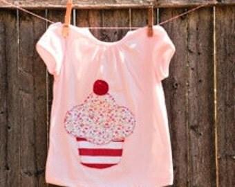 Yummiest Cup Cake Kids T shirt