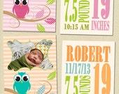 Birth Announcement Photo Card Templates 5x7