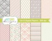Digital Scrapbook Papers and Digital Paper Packs - DP110