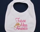 Future Miss America embroidery