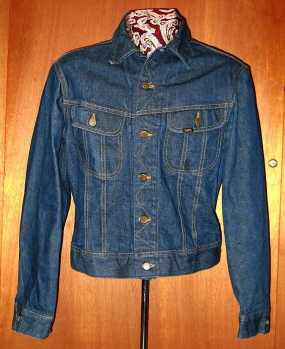 Vintage Lee 101-J denim jacket
