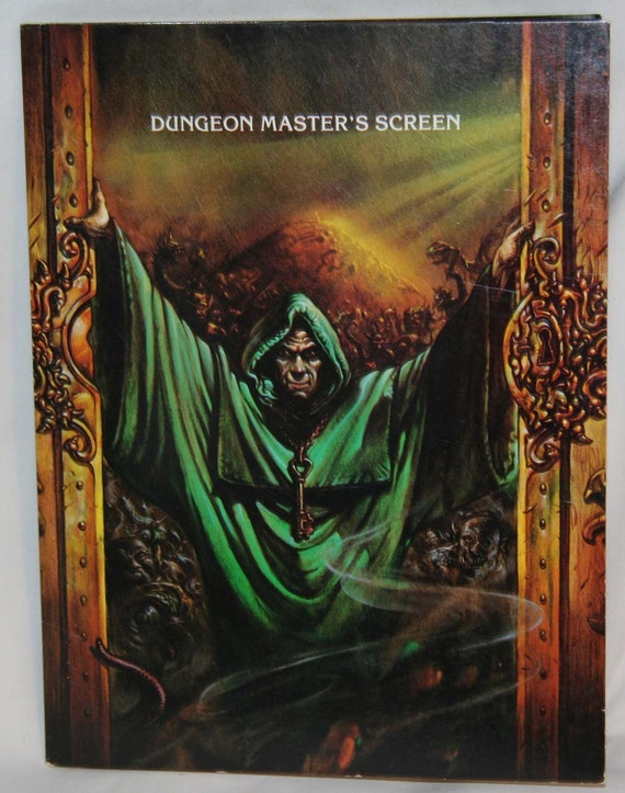 how to build dungeon master screen