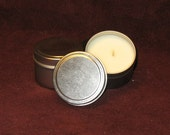 Vanilla 100% Soy Wax 4 oz Candle Tin