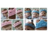 Newborn Photography Prop Crown Headband Two Pack