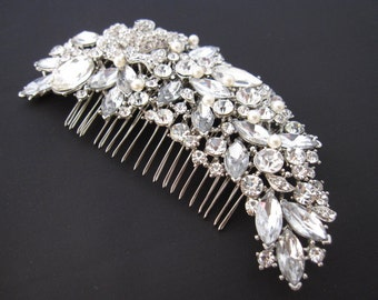 bridal hair comb,wedding comb hair accessory,wedding hair comb,pearl bridal comb,wedding hair accessory,bridal hair piece,wedding headpiece