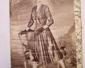 Sewing patterns, Dutch magazine Marion December 1951