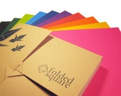Origami Paper 100 sheet Pantone gift set - Contemporary Colour Collection