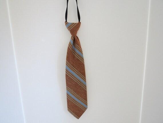 Men's Tie, 1970's, Zipper Tie