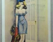 1941 Signed O'Toole WWII  Postcard