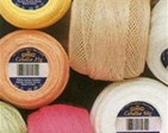 DMC Cebelia Crochet Cotton - sizes 10, 20, 30 - 26 colors