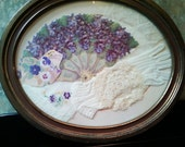 SALE Shabby Chic Wall Hanging