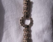 Vintage Marcasite and Sterling Clasp