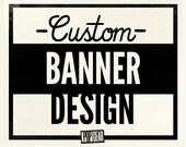 Custom Banner Design for Any Website, Etsy Shop or Blog
