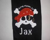 Pirate birthday shirt.
