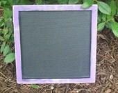 Chalkboard  - Shabby Wedding Decor - 10x10 Wedding Sign Chalk Board
