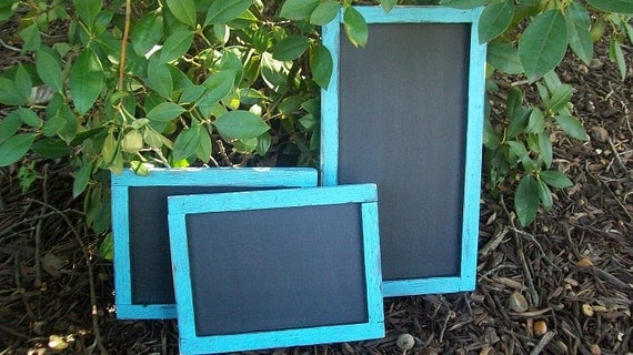 Wooden Chalk Board - Shabby Wedding Decor -  Wedding Sign Bar Chalkboard Set - Restaurant Chalkboard - Bar Chalk Board Set