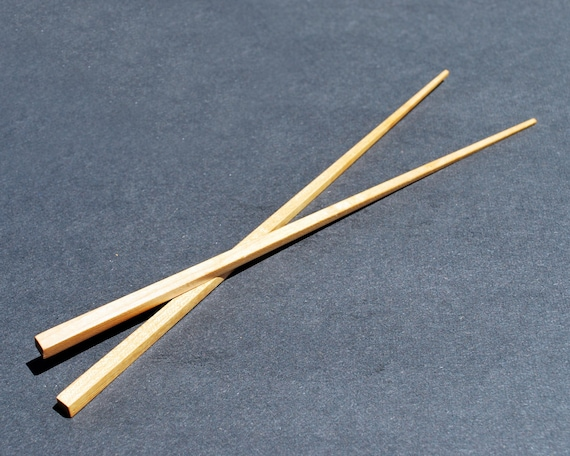 Exotic Hardwood chopsticks by the pair