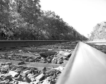 On The Tracks 8x10