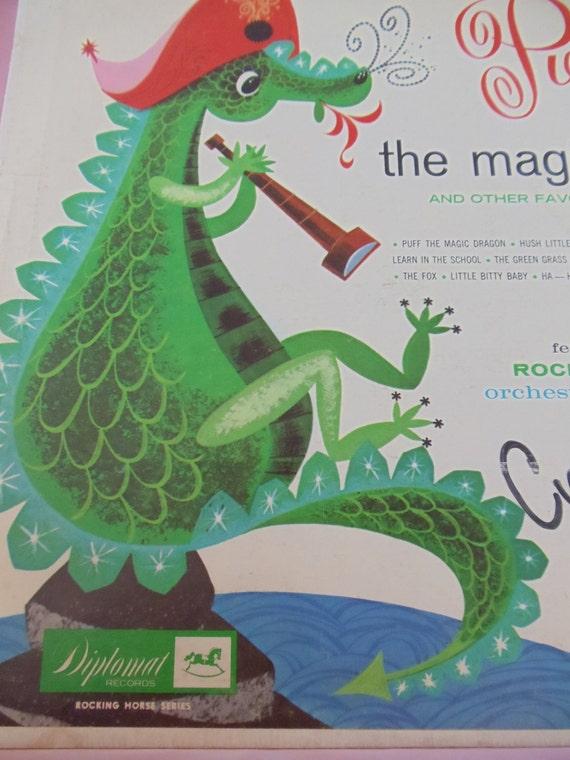 Puff The Magic Dragon Vintage Album