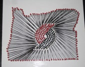 Oregon Portland Trailblazers String Art