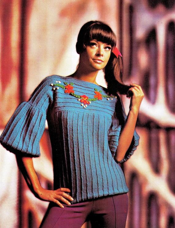 Vintage strikkemønster