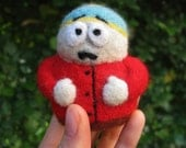 Eric Cartman South Park - felted toy