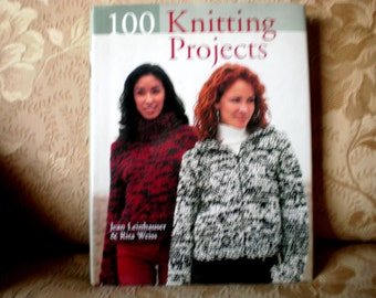 100 Knitting Project Book