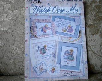Watch Over Me Cross Stitch Leaflet