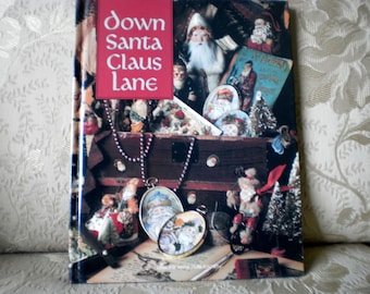 Down Santa Clause Lane Cross Stitch Book