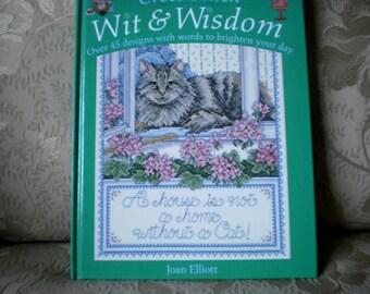 Wit & Wisdom Cross Stitch Book