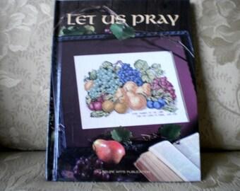 Let Us Pray Cross Stitch Book