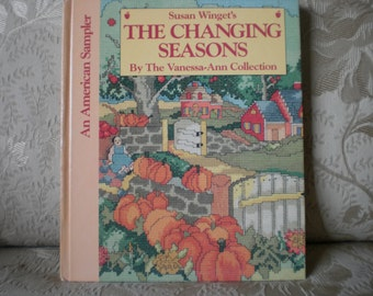 The Changing Seasons - Vanessa-Ann Collection Cross Stitch Book