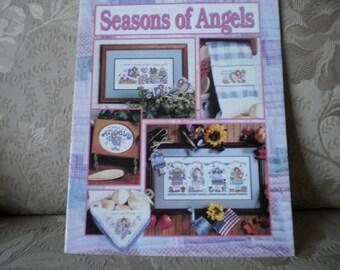 Seasons of Angels Cross Stitch Leaflet