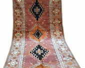 VINTAGE MOROCCAN RUG with silky wool