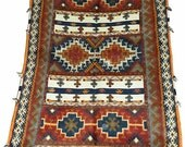 """Hand knotted / Flat woven """" GLAWA"""" MOROCCAN RUG"""