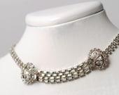 Weiss rhinestone necklace