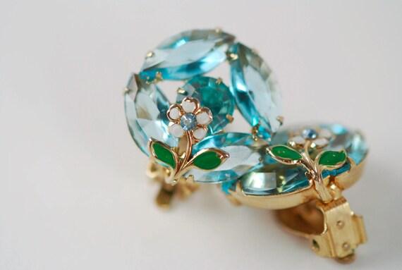Blue Weiss Earrings