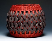 Red/Black Penland Pottery Basket