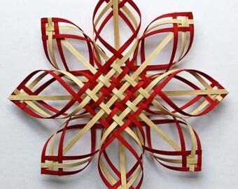 XLG wal red Carolina Snowflake