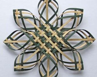 X Lg wal/green Carolina Snowflake