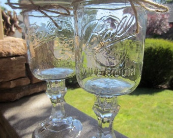 Redneck Wine Glass, Pint Size, Wide Mouth, Large