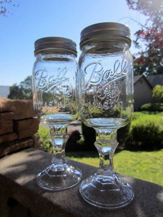 Redneck Wine Glass, Pint Size, 16oz
