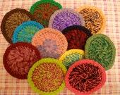 Crocheted Cotton & Nylon Kitchen Scrubbie