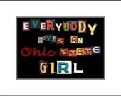 Everybody Loves an Ohio State Girl