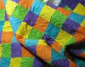Lap Quilt - Quilting Gone Crazy Batik
