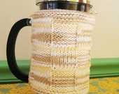 French Press Cozy, Warm Naturals