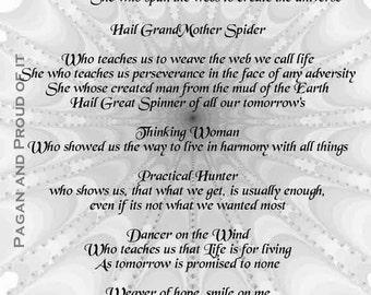 "Grand Mother Spider   - 8"" x 10"" Art Print"