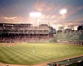 5 x 7 Print of a Fenway Park Baseball Game - ThisLittleApartment