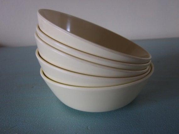 Set of Five Texas-Ware Bowls
