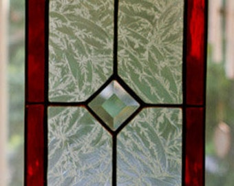 Stained Glass Mini Transom